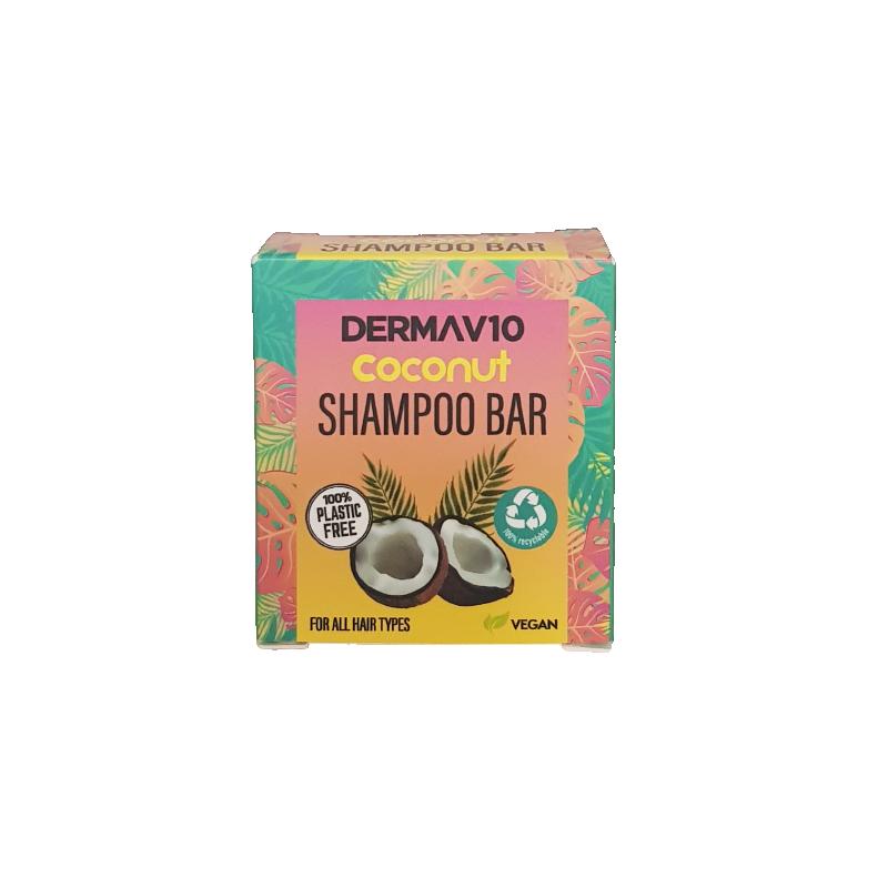 DermaV10 Coconut Shampoo Bar