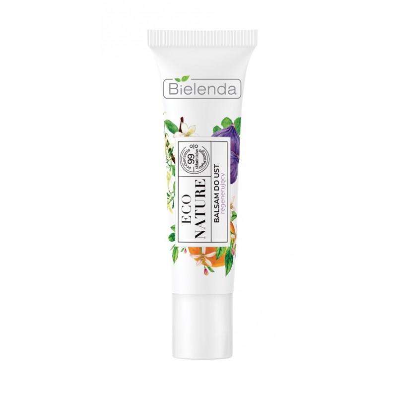 Bielenda Eco Nature Regenerating Lip Balm Vanilla Milk & Fig & Orange Blossom