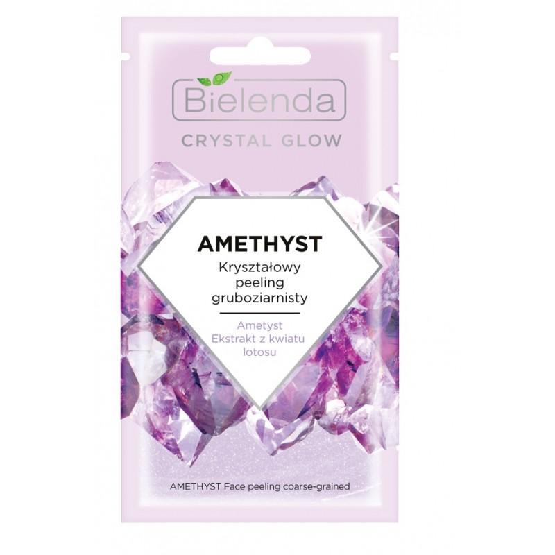 Bielenda Crystal Glow Amethyst Crystal Face Peeling