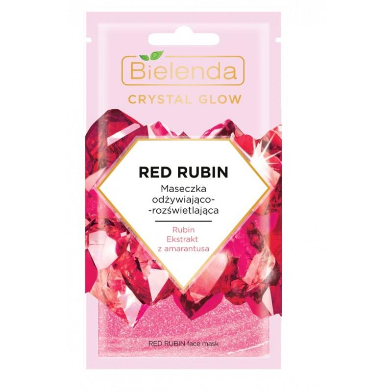 Bielenda Crystal Glow Red Rubin Face Mask