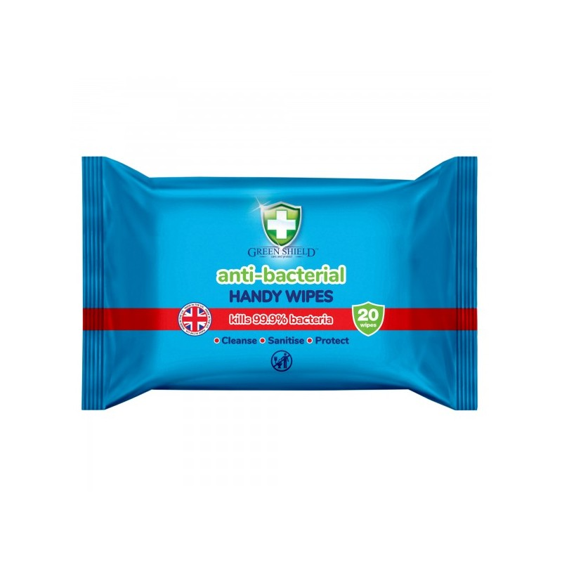Green Shield Antibacterial Wipes