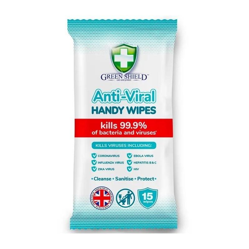 Green Shield Anti-Viral Wipes