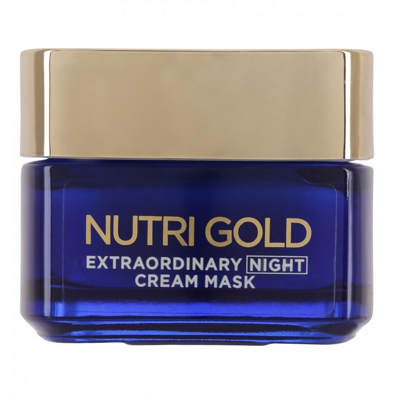 L'Oreal Nutri Gold Extraordinary Cream Mask Night