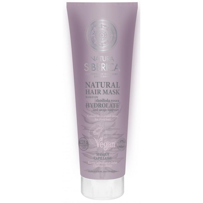 Natura Siberica Revitalising & Colour Protecting Hair Mask For Dyed Hair