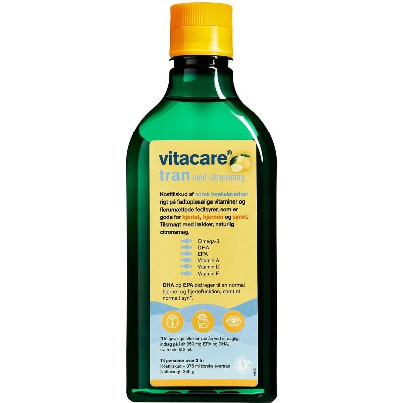 VitaCare Levertran Med Citronsmag