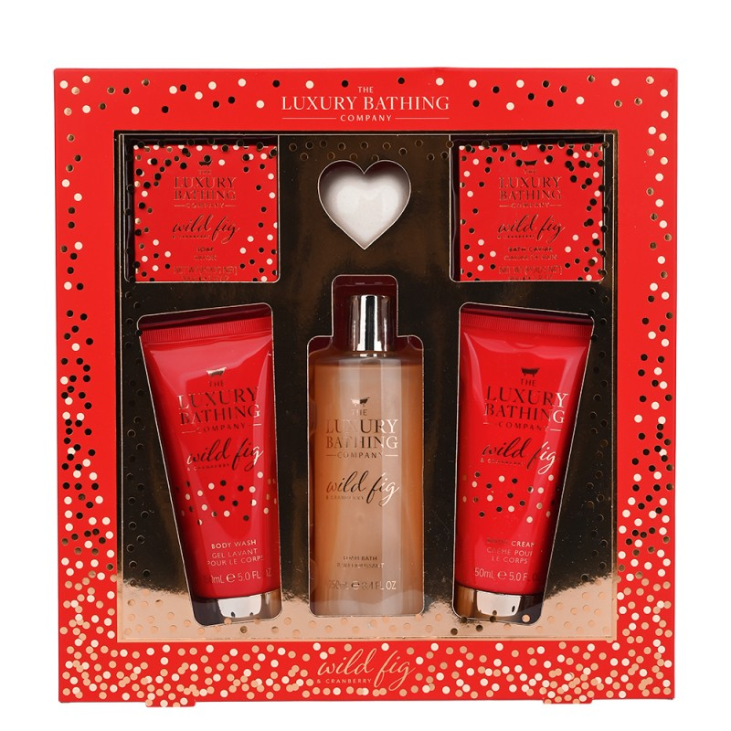 The Luxury Bathing Company Glistening Gift Set