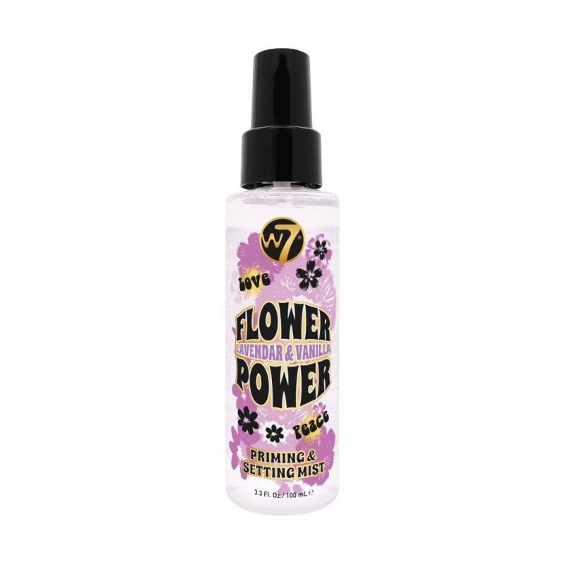 W7 Flower Power Prime & Setting Spray Lavendar & Vanilla