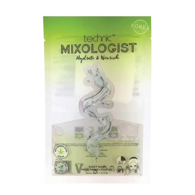 Technic Mixologist Hydrate & Nourishing Sheet Mask