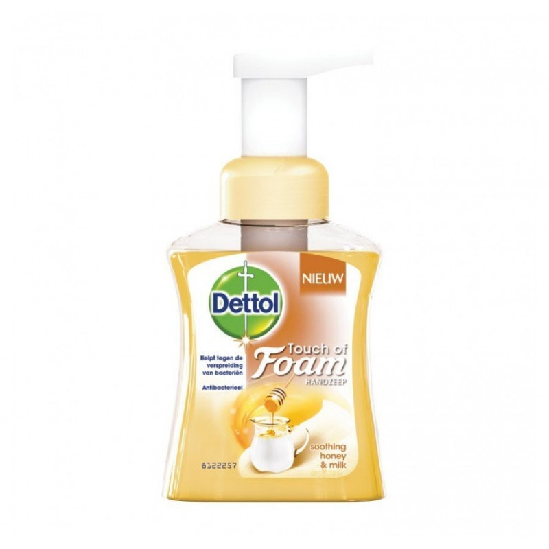 Dettol Touch Of Foam Soothing Honey & Milk Hand Soap