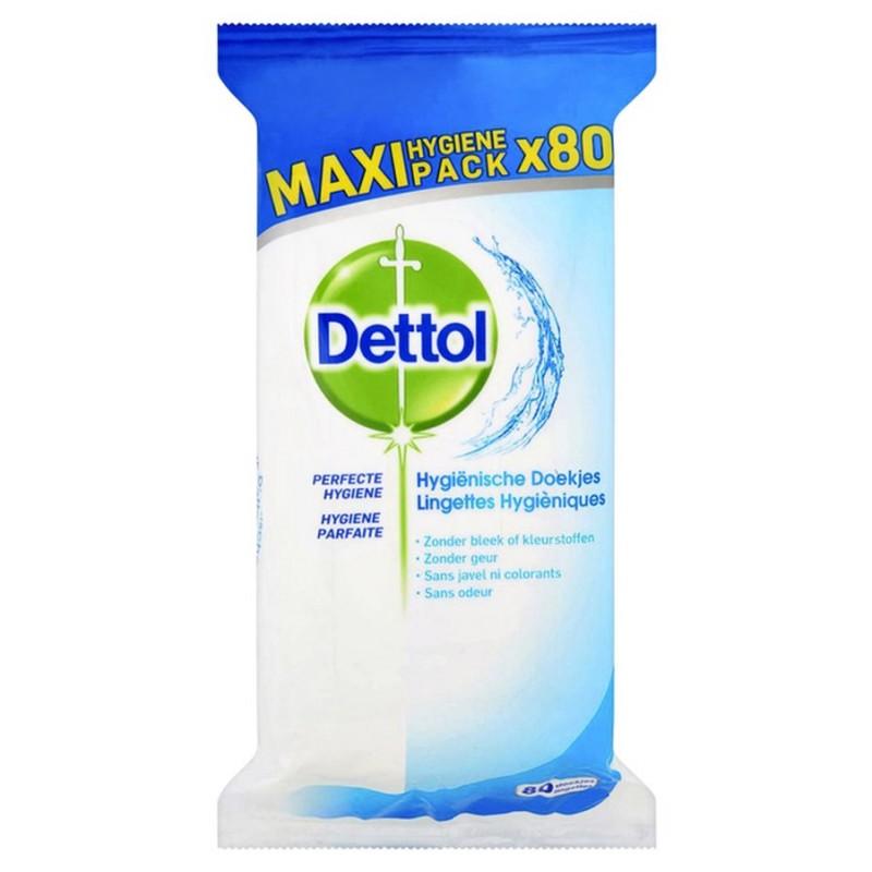 Dettol Multi-Purpose Disinfectant Antibacterial Wipes Maxi Pack