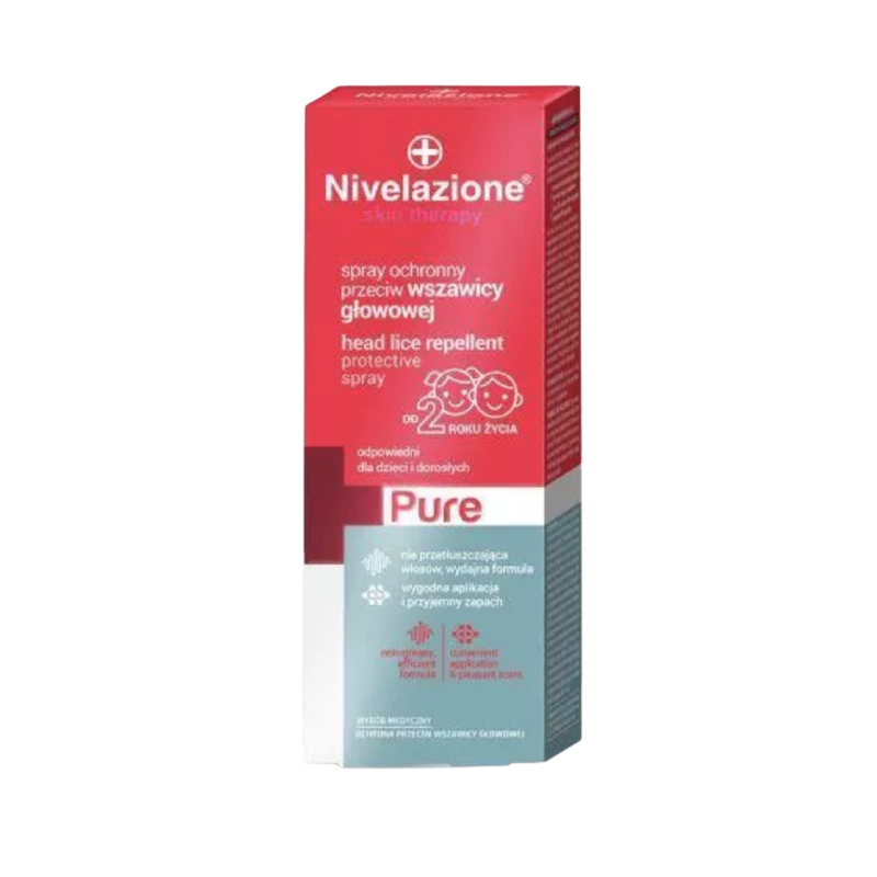 Nivelazione Skin Therapy Pure Head Lice Repellent Protective Spray