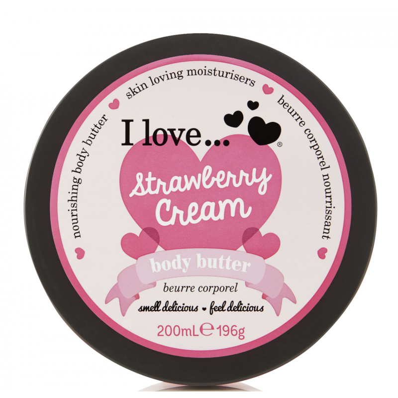 I Love Cosmetics Body Butter Strawberry Cream