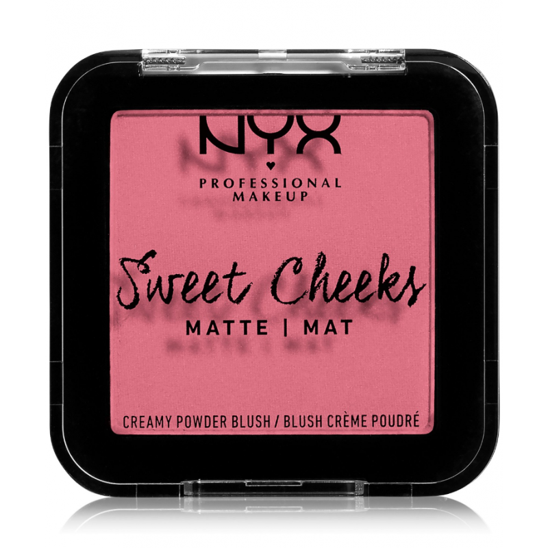NYX Sweet Cheeks Matte Blush Rose & Play