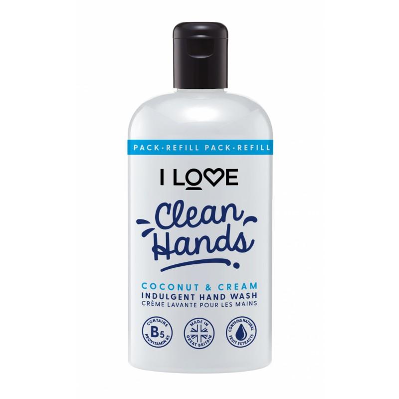 I Love Cosmetics Hand Wash Coconut & Cream
