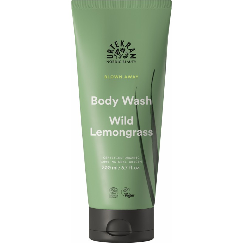 Urtekram Wild Lemongrass Body Wash