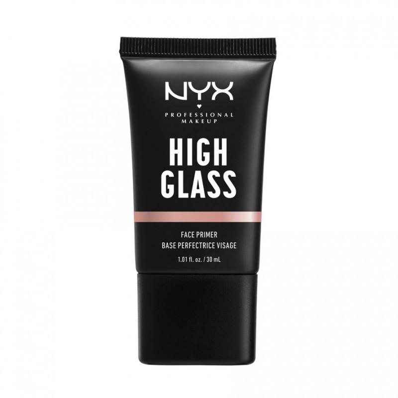 NYX High Glass Face Primer Rose Quartz