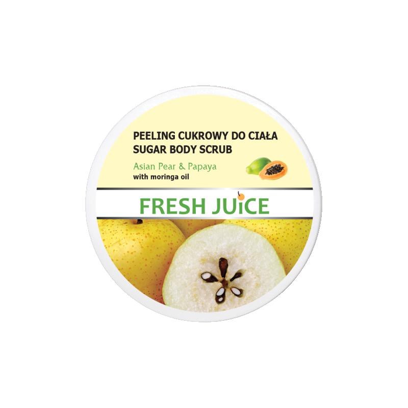 Fresh Juice Sugar Body Scrub Asian Pear & Papaya