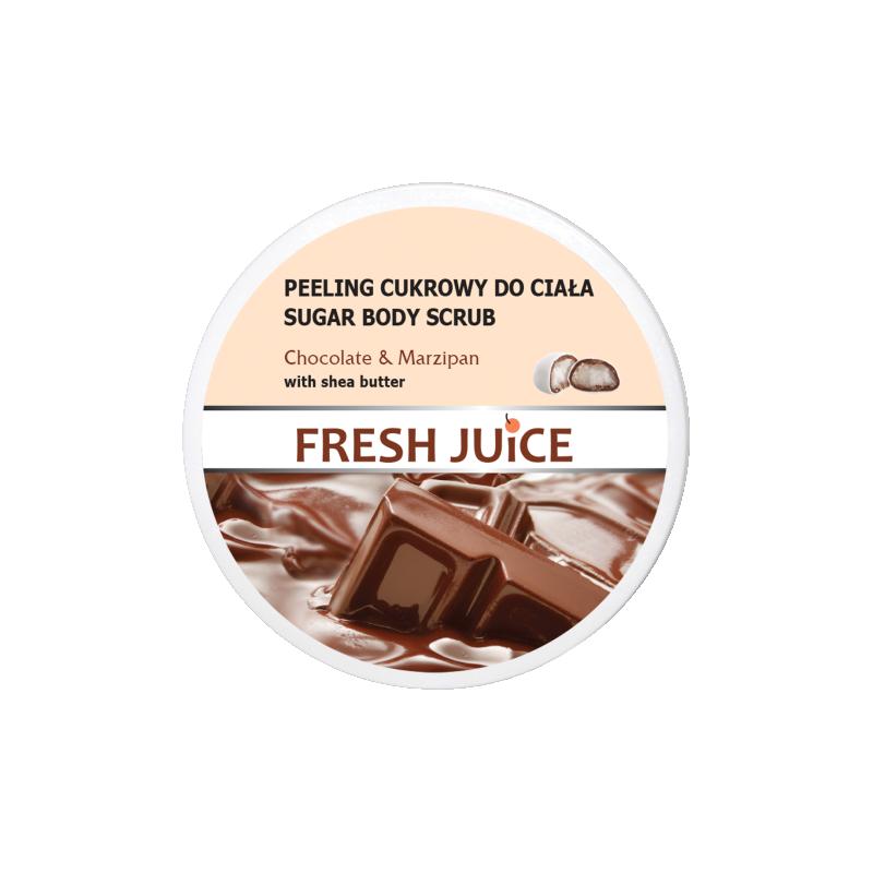 Fresh Juice Sugar Body Scrub Chocolate & Marcipan