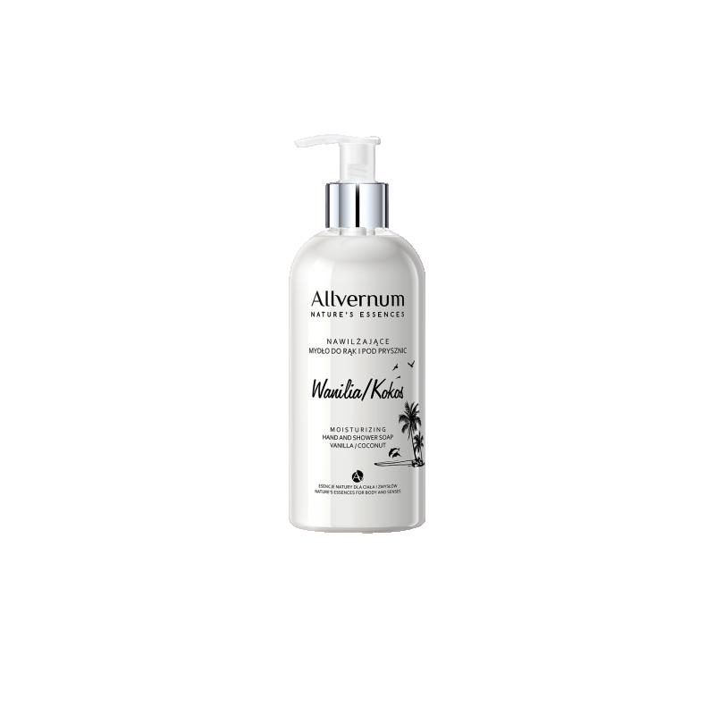 Allvernum Moisturizing Hand & Shower Soap Vanilla Coconut