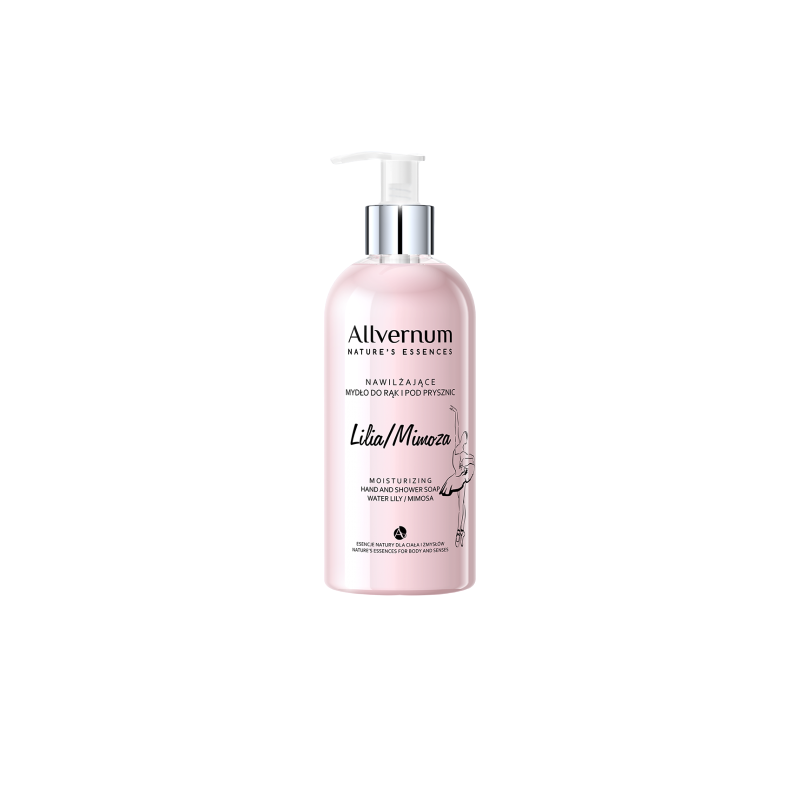 Allvernum Moisturizing Hand & Shower Soap Water Lily Mimosa