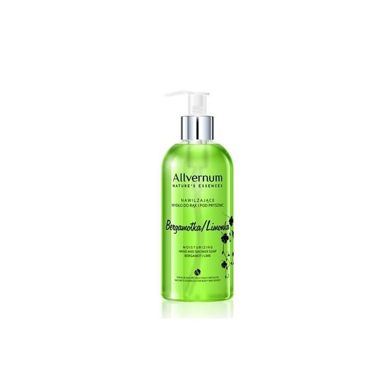 Allvernum Moisturizing Hand & Shower Soap Bergamot Lime