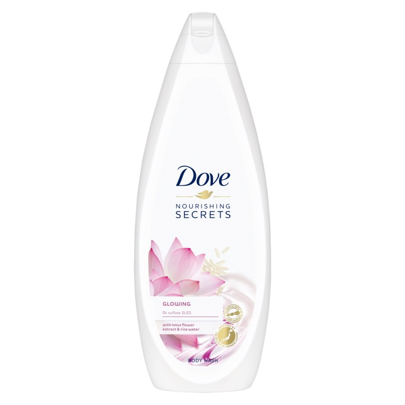 Dove Glowing Body Wash With Lotus Flower Extract & Rice Water