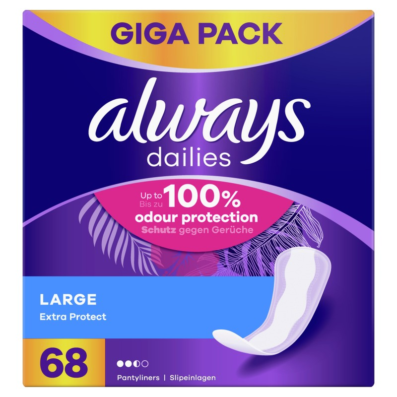 Always Dailies Extra Protect Large