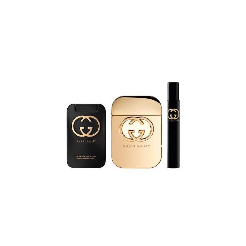Gucci Guilty EDT & Body Lotion & EDT Rollerball