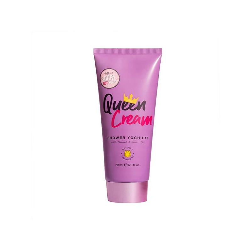 So...? Sorry Not Sorry Queen Cream Shower Yoghurt