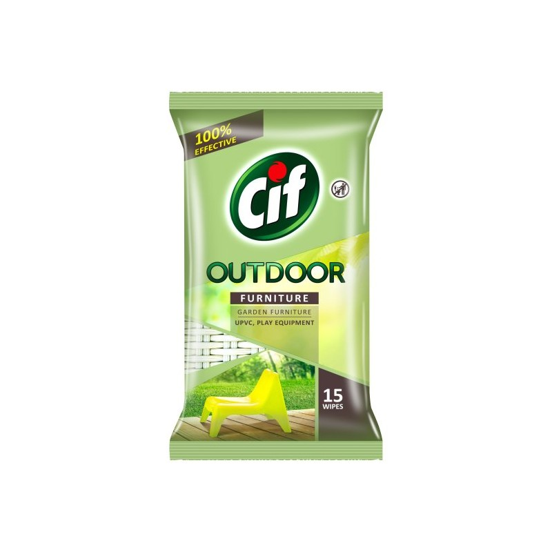 Cif Outdoor Furniture Wipes
