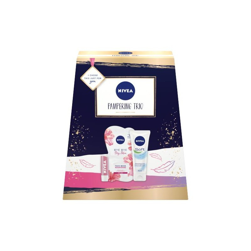 Nivea Pampering Trio Gift Set
