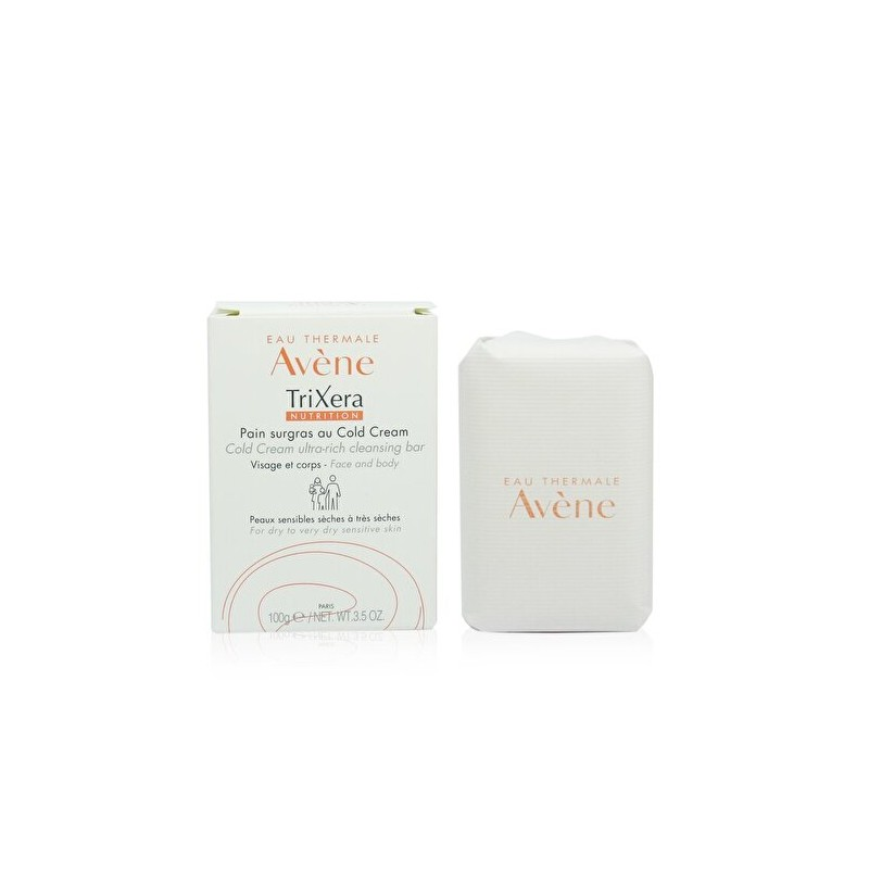 Avéne Thermale TriXera Nutrition Ultra-Rich Cleansing Bar