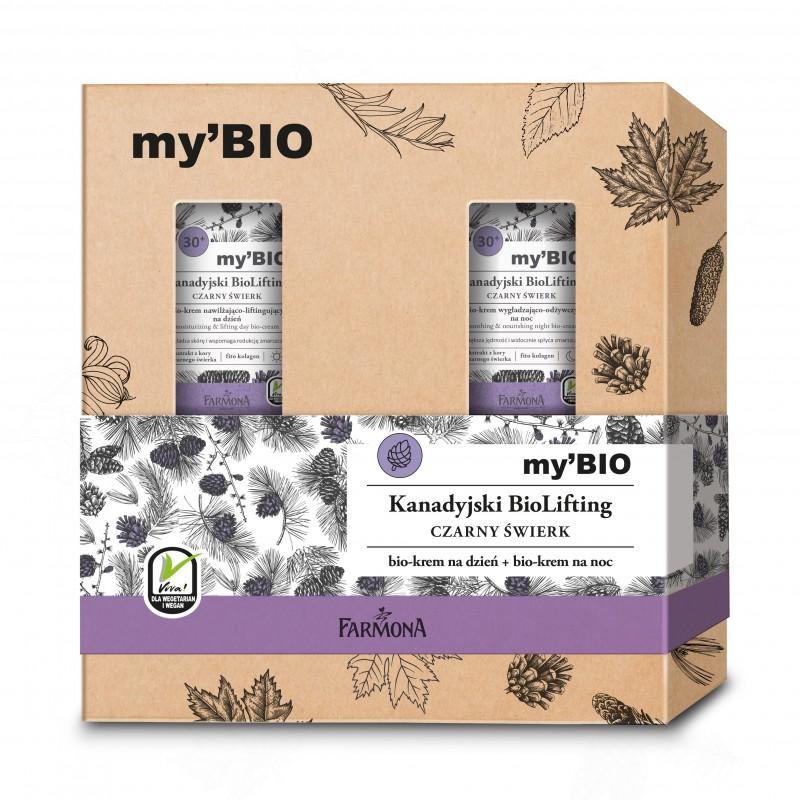 Farmona My'BIO Canadian Biolifting 30+ Black Spruce Day Cream & Night Cream