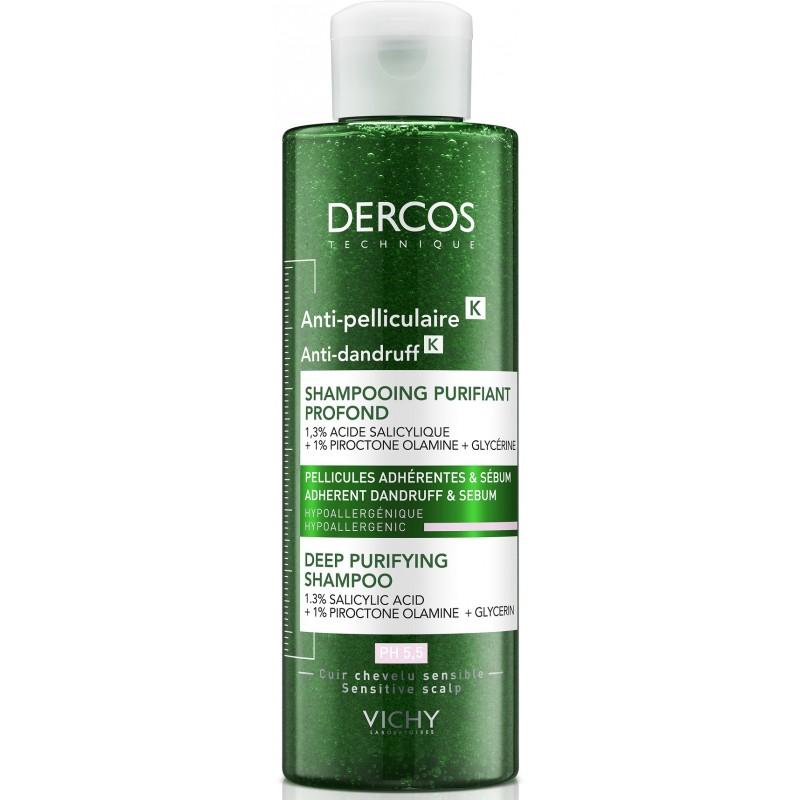 Vichy Dercos Anti Dandruff Deep Purifying Shampoo