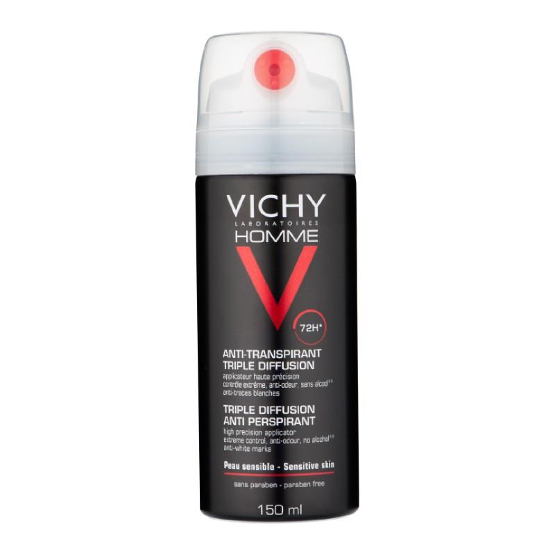 Vichy Homme 72H Triple Diffusion Deospray