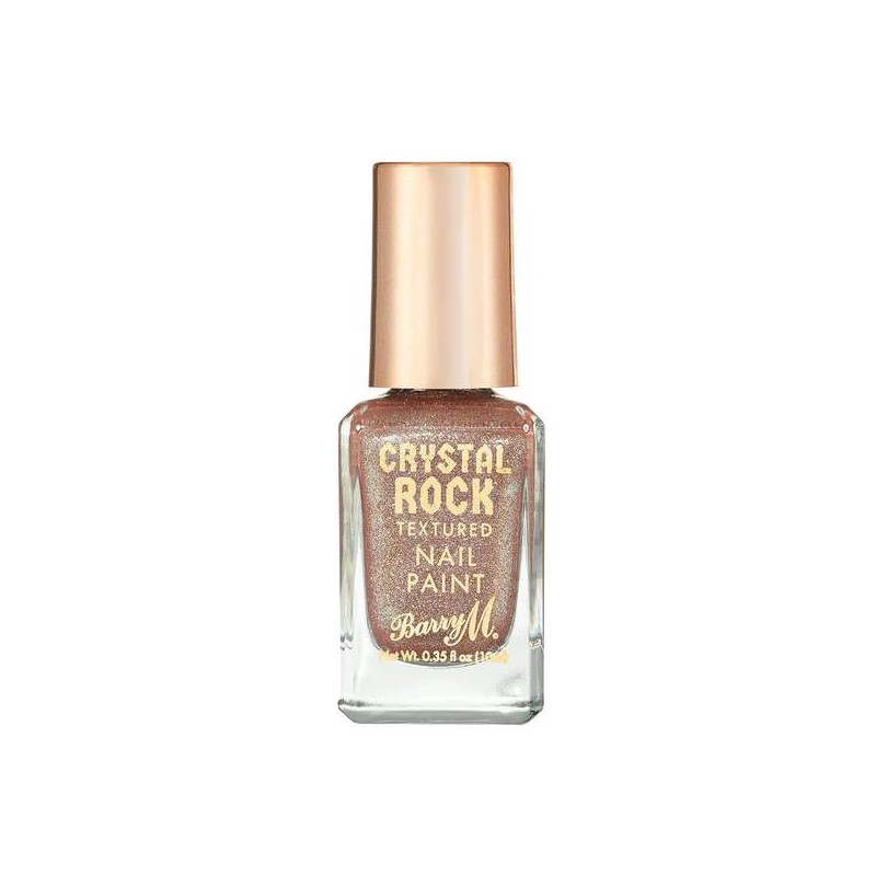 Barry M. Crystal Rock Textured Nail Paint Tiger Eye