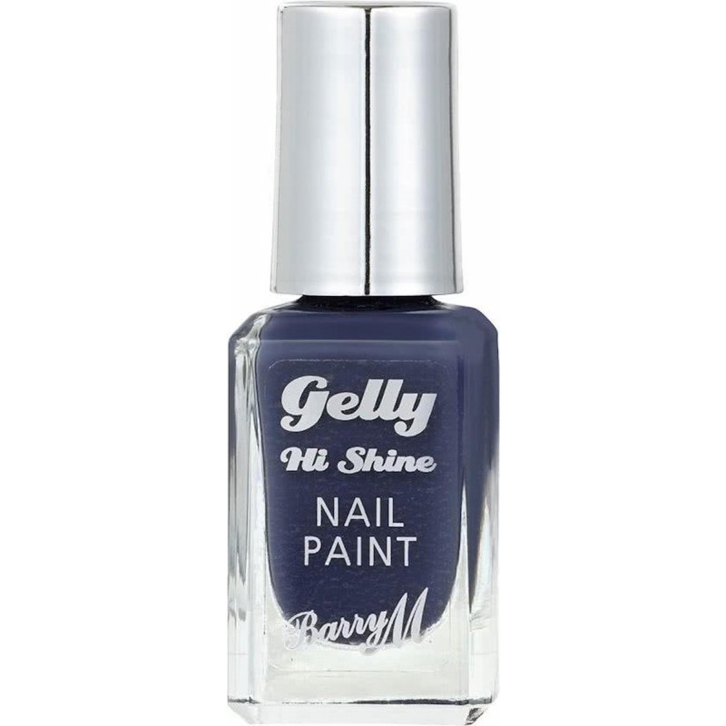 Barry M. Gelly Hi Shine Nail Paint Blue Jade