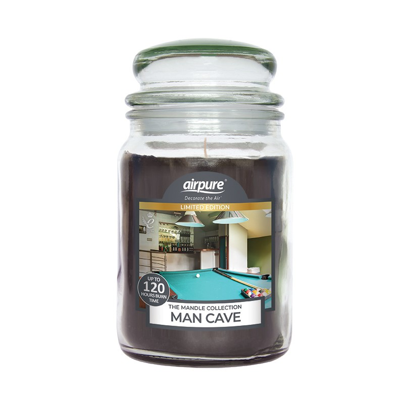 Airpure Man Cave Scented Candle
