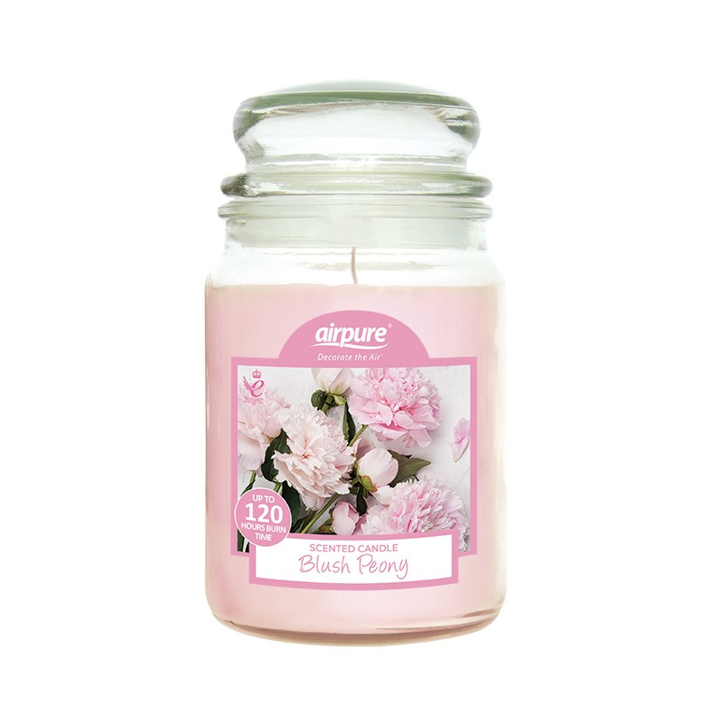 Airpure Blush Peony Scented Candle