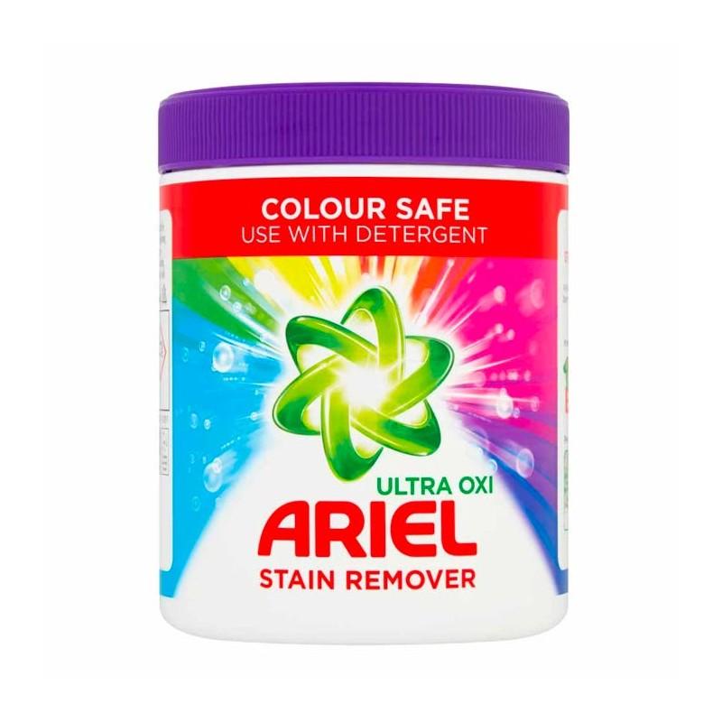 Ariel Ultra Oxi Stain Remover Powder Colours