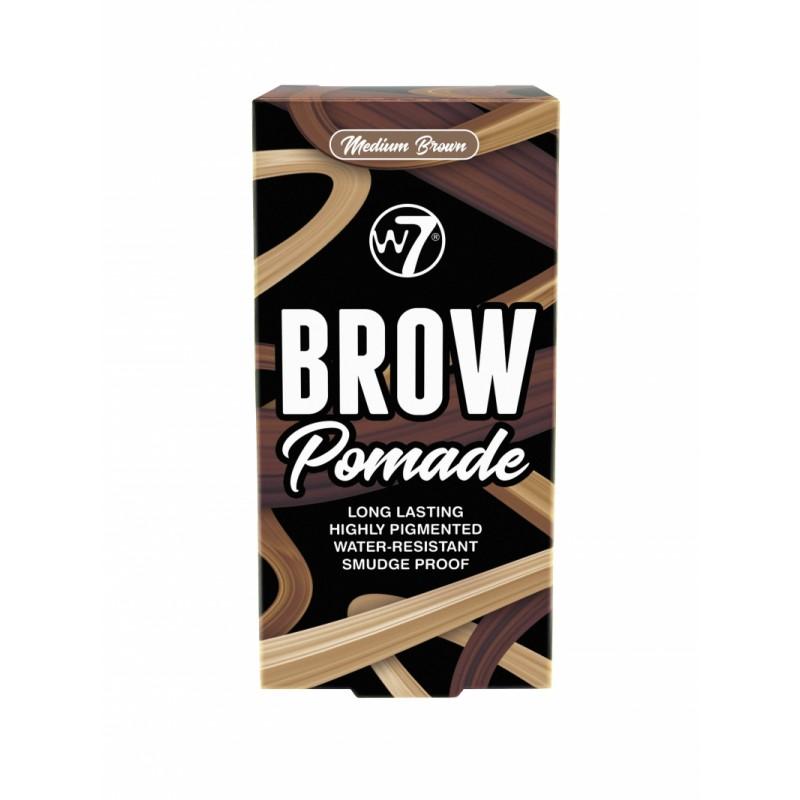 W7 Brow Pomade Medium Brown