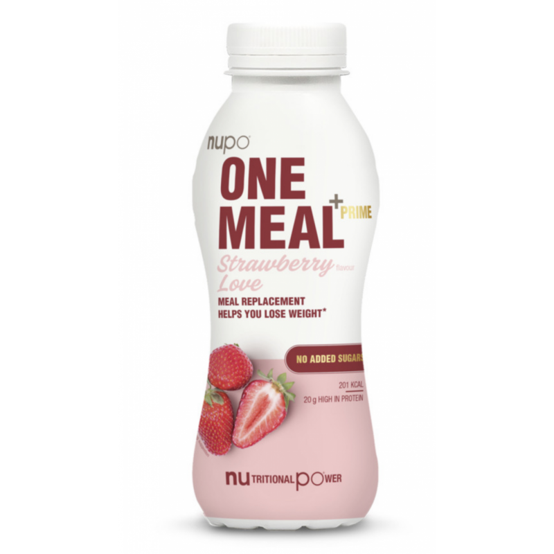 Nupo One Meal +Prime RTD Strawberry Love