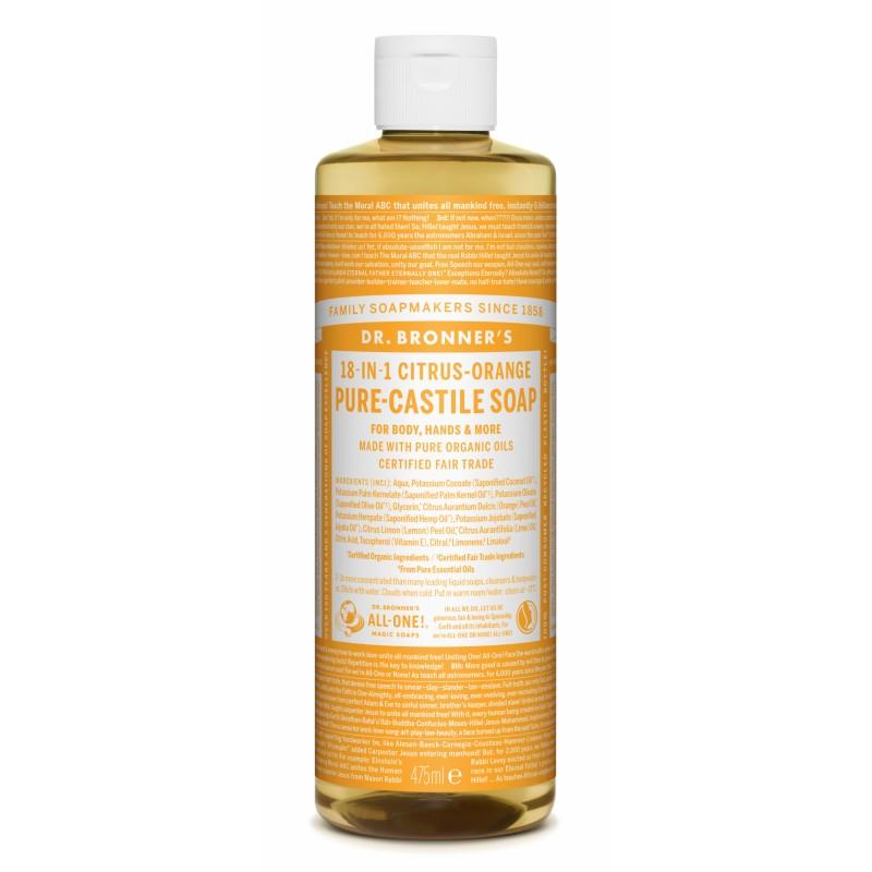 Dr. Bronner's Castile Soap Citrus Orange