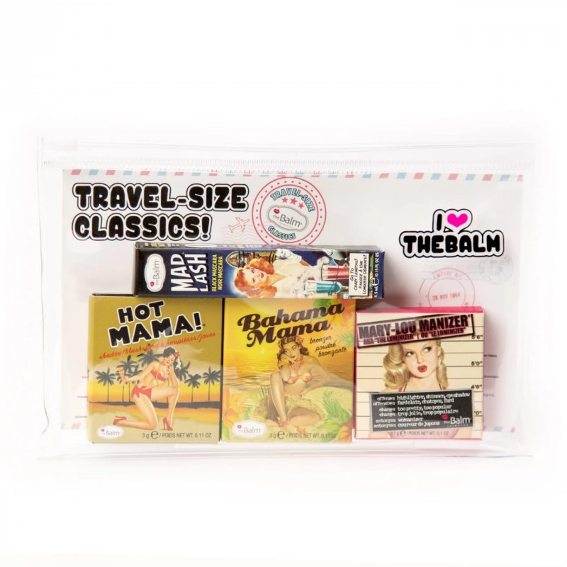 The Balm Travel Size Classics With Cosmetics Bag