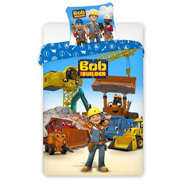 Kids Group Junior Bed Linen Bob The Builder