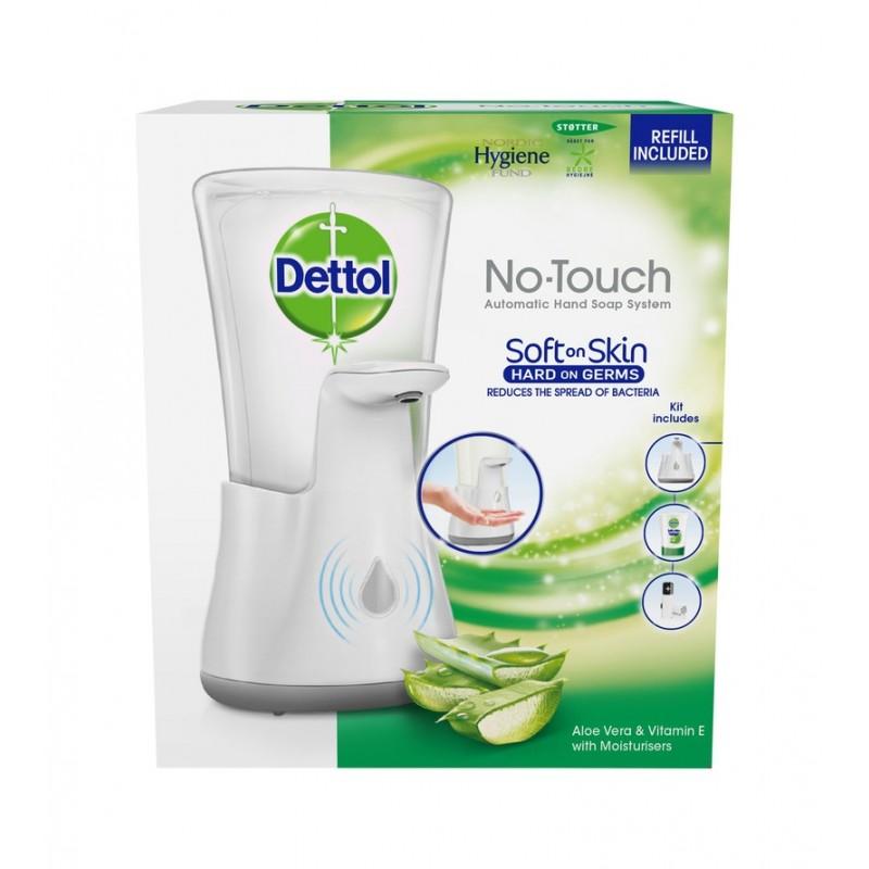 Dettol No Touch Soap Starter Kit Aloe Vera