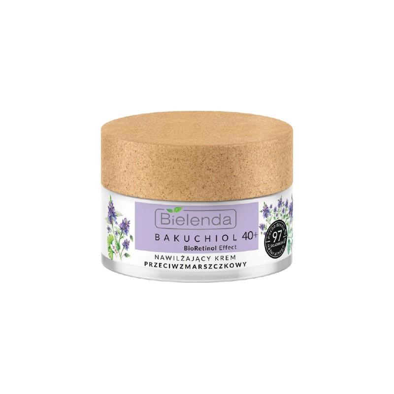 Bielenda Bakuchiol Bioretinol Effect Moisturizing Antiwrinkle Face Cream 40+