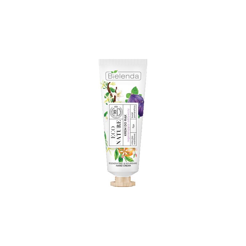 Bielenda Eco Nature Vanilla Milk & Fig & Orange Flower Hand Cream