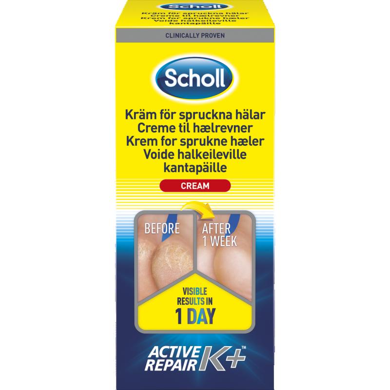 Scholl Active Repair K+ Cracked Heel Cream