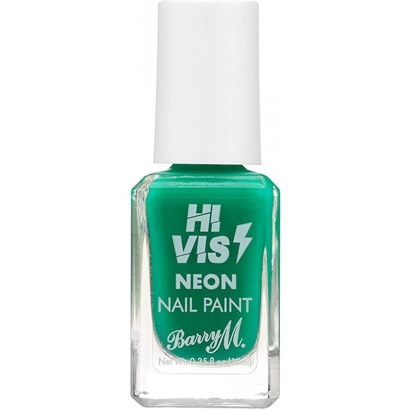 Barry M. Hi Vis Neon Nail Paint Green Light